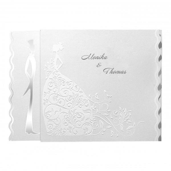 Designer Hochzeitskarte Nr. 6