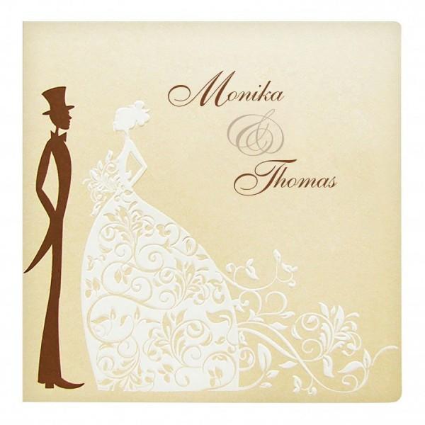 Designer Hochzeitskarte Nr. 44
