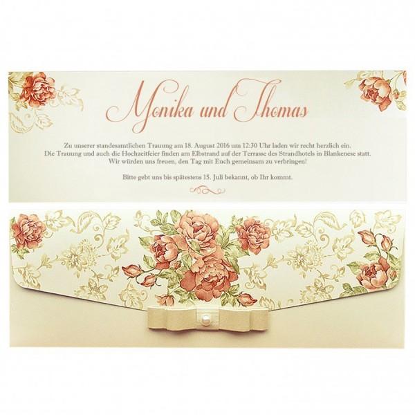 Designer Hochzeitskarte Nr. 17