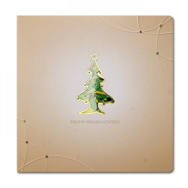 Designer Weihnachtskarte Nr. 228