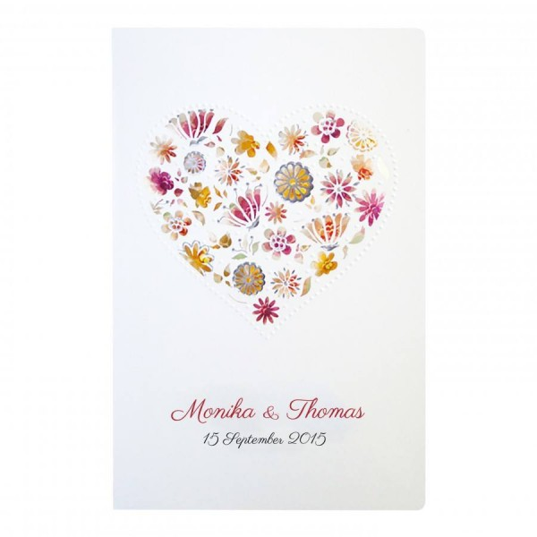 Designer Hochzeitskarte Nr. 16