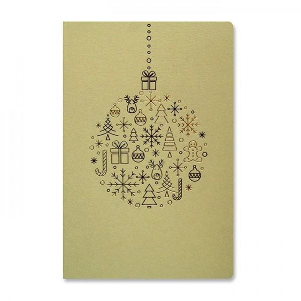 Kreative Weihnachtskarte Nr. 204