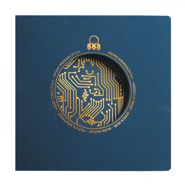 Designer Weihnachtskarte Nr. 199