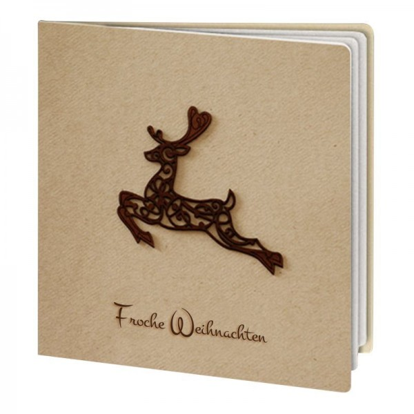 Kreative Weihnachtskarte Nr. 291