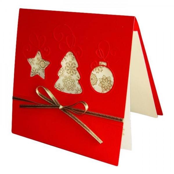 Moderne Weihnachtskarte Nr. 38