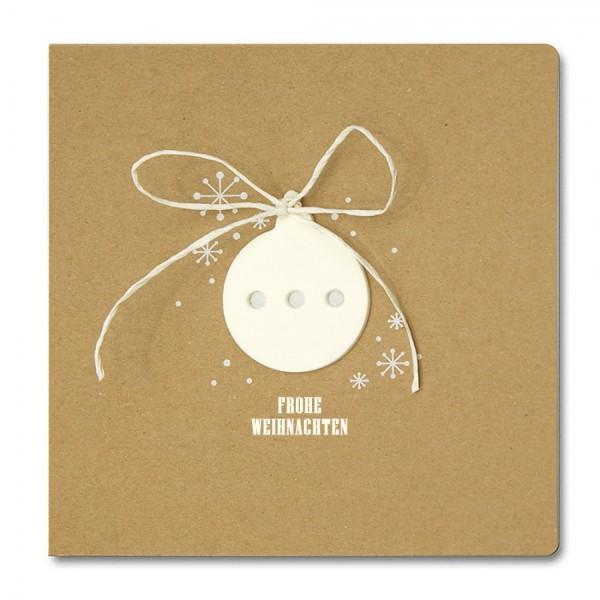 Designer Weihnachtskarte Nr. 198