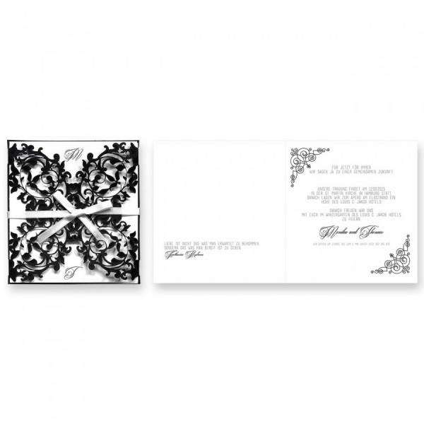 Designer Hochzeitskarte Nr. 10