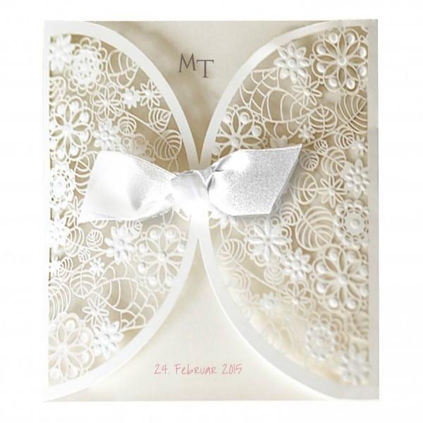 Moderne Hochzeitskarte Nr. 28